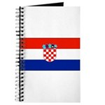 Croatia Blank Flag Journal