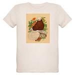 Bald Muff Tumbler Organic Kids T-Shirt