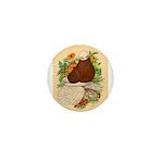 Bald Muff Tumbler Mini Button (10 pack)