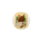 Bald Muff Tumbler Mini Button