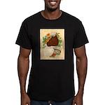 Bald Muff Tumbler Men's Fitted T-Shirt (dark)