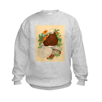 Bald Muff Tumbler Kids Sweatshirt