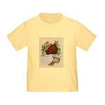 Bald Muff Tumbler Toddler T-Shirt