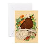 Bald Muff Tumbler Greeting Card