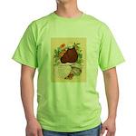 Bald Muff Tumbler Green T-Shirt