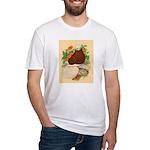 Bald Muff Tumbler Fitted T-Shirt