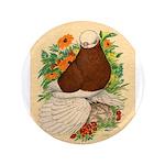 "Bald Muff Tumbler 3.5"" Button (100 pack)"