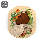 "Bald Muff Tumbler 3.5"" Button (10 pack)"
