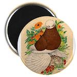"Bald Muff Tumbler 2.25"" Magnet (100 pack)"
