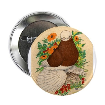 "Bald Muff Tumbler 2.25"" Button (100 pack)"