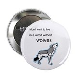 Wolf 2.25&amp;quot; Button