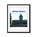 Folsom Prison Framed Panel Print