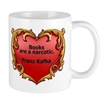 Kafka - On Books Mug