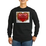 Kafka - On Books Long Sleeve Dark T-Shirt