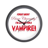 Looking for a vampire! Wall Clock