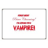 Looking for a vampire! Banner