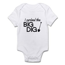 I Survived the Big Dig Infant Bodysuit