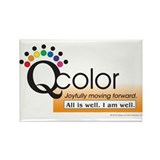 Queen of Color Rectangle Magnet