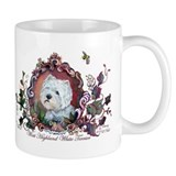 Westie Portrait Dog Art Mug