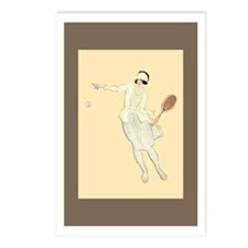 Deco Tennis Girl - Tennis Postcards (Pk of 8)