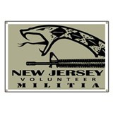 New Jersey Militia Banner