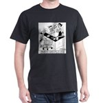 Laser Surgery Helps W/ Barcode Scans Dark T-Shirt