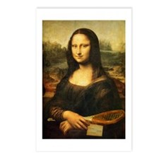 Mona Lisa Smile - Tennis Postcards (Pk of 8)