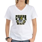 Cougar Bait Women's V-Neck T-Shirt