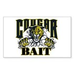Cougar Bait Sticker (Rectangle 10 pk)