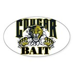Cougar Bait Sticker (Oval)