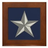 Brigadier General Framed Tile