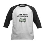 Dreams Do Come True Kids Baseball Jersey