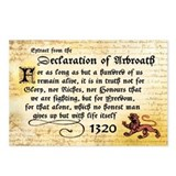 The Declaration of Arbroath Postcards (8)