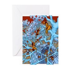Moon Jungle Greeting Cards (Pk of 20)