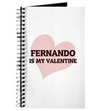 Fernando Is My Valentine Journal