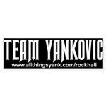 Team Yankovic Twilight Bumper Sticker 10 pack