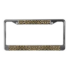 Cheetah #1 License Plate Frame