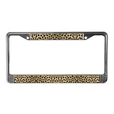 Cheetah #1 License Plate Frame