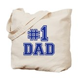 No.1 Dad Tote Bag
