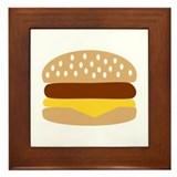 Hamburger Framed Tile