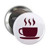"Cup of coffee 2.25"" Button"
