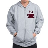 Cup of coffee Zipped Hoody