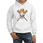 Skull Baseball Hooded Sweatshirt