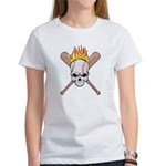 Skull Baseball Women's T-Shirt