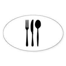 Cutlery - Fork - Knife - Spoon Decal