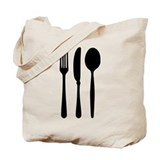 Cutlery - Fork - Knife - Spoon Tote Bag