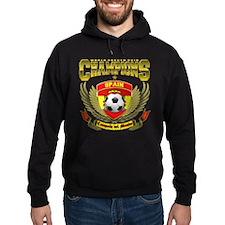 Spain 2010 World Soccer Champions Hoodie