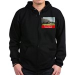 Roosevelt Junior High Zip Hoodie (dark)