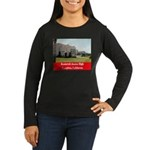 Roosevelt Junior High Women's Long Sleeve Dark T-S