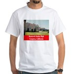 Roosevelt Junior High White T-Shirt
